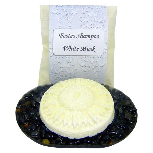 Solid Shampoo White Musk