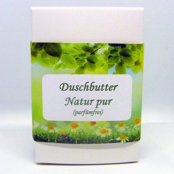 Duschbutter natur pur, parfümfrei