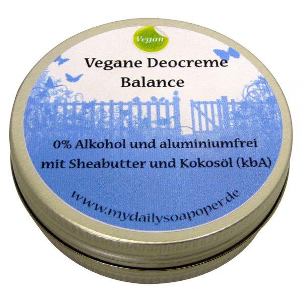 Vegane Deocreme Balance