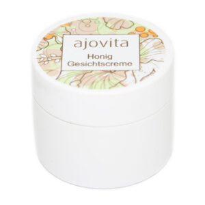 ajovita-Probe-Honig-Gesichtscreme