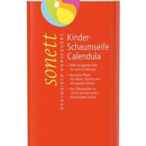 Sonett Kinder-Schaumseife Calendula 1 Liter Nachfuellflasche