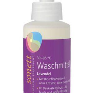 sonett_waschmittel_lavendel_Probeflasche 120ml