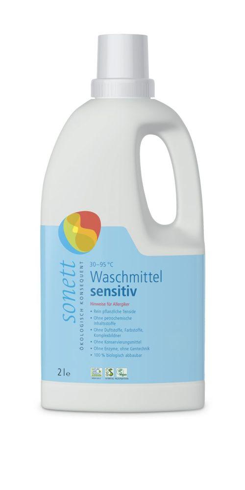 Sonett Waschmittel fluessig sensitiv 2 Liter
