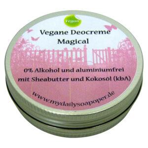 Vegane Deocreme Magical ohne Aluminium und Alkohol-MyDailySoapOpera.de