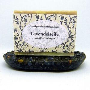 Naturseife Lavendel mit reinem Lavendelöl