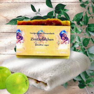 Naturseife Zimtäpfelchen vegan und palmölfrei