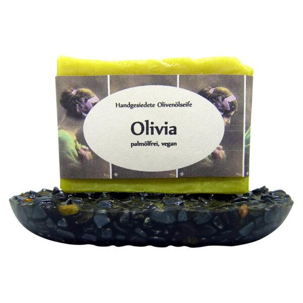 Handgemachte Olivenölseife Olivia-MyDailySoapOpera.de