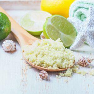 Salzpeeling Lemongras