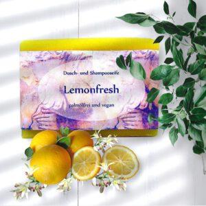 Haarseife Lemonfresh vegan und palmölfrei