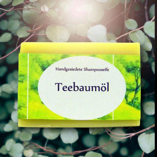 Haarseife mit ätherischem Teebaumöl