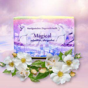 Ziegenmilchseife Magical mit allergenfreiem Duft
