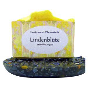 Handgemachte Naturseife Lindenblüte-MyDailySoapOpera.de