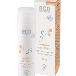 Eco Cosmetics Antioxidans CC Creme getönt hell LSF 50 MyDailySoapOpera.de