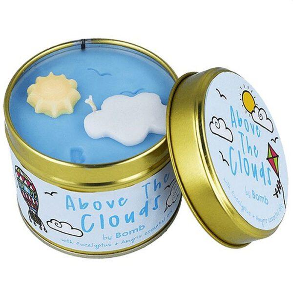 Bomb-Cosmetics-Duftkerze-Dosenkerze-Above-the-clouds-MydailySoapOpera.de